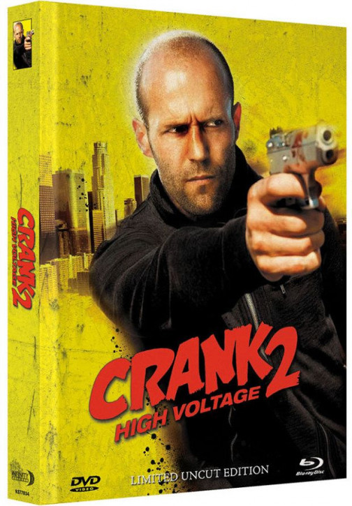 Crank 2 High Voltage - Limited Mediabook Edition - Cover C [Blu-ray+DVD]