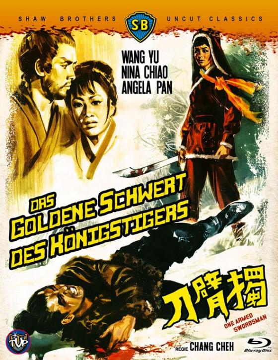Das goldene Schwert des Königstigers - BD Hartbox [Blu-ray]