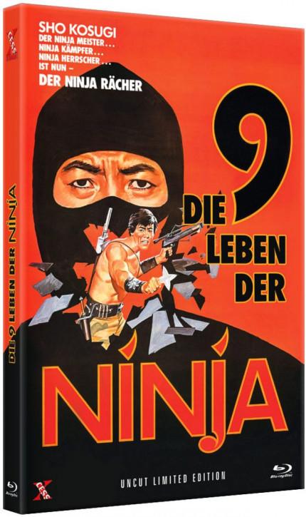 Die 9 Leben der Ninja - Große Hartbox [Blu-ray]