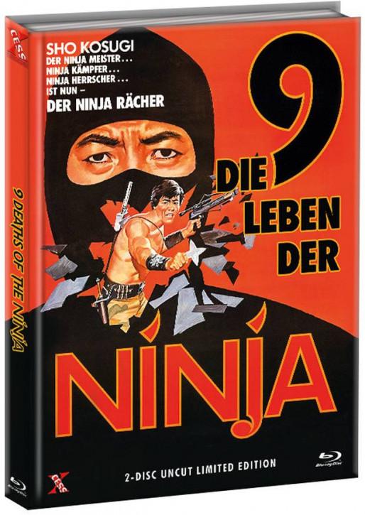 Die 9 Leben der Ninja - Mediabook - Cover A [Bluray+DVD]