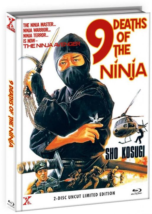 Die 9 Leben der Ninja - Mediabook - Cover B [Bluray+DVD]