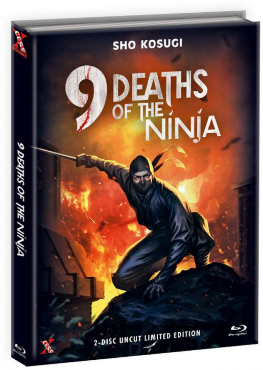 Die 9 Leben der Ninja - Mediabook - Cover C [Bluray+DVD]