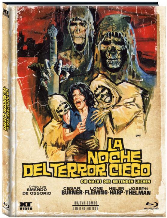 Die Nacht der reitenden Leichen - Limited Mediabook - Cover B [Blu-ray+DVD]