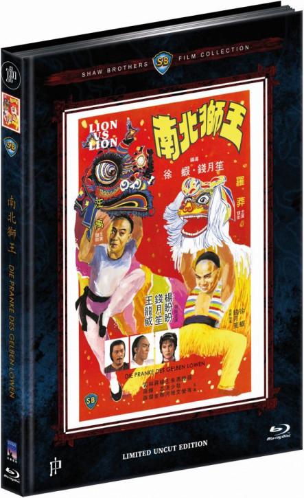 Die Pranke des gelben Löwen - Mediabook - Cover A [Blu-ray]