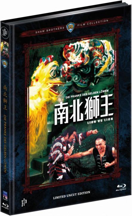 Die Pranke des gelben Löwen - Mediabook - Cover B [Blu-ray]