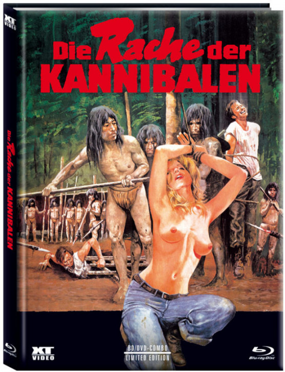 Cannibal Ferox - Limited Mediabook - Cover A [Blu-ray+DVD]