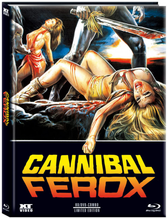 Cannibal Ferox - Limited Mediabook - Cover B [Blu-ray+DVD]
