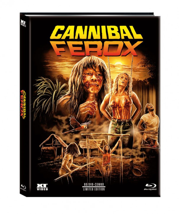 Cannibal Ferox - Limited Mediabook - Cover C [Blu-ray+DVD]