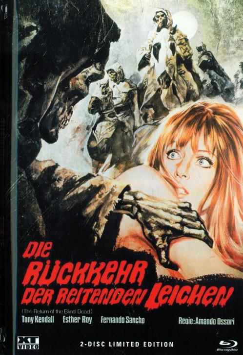 Die Rückkehr der reitenden Leichen - Große Hartbox [Blu-ray]