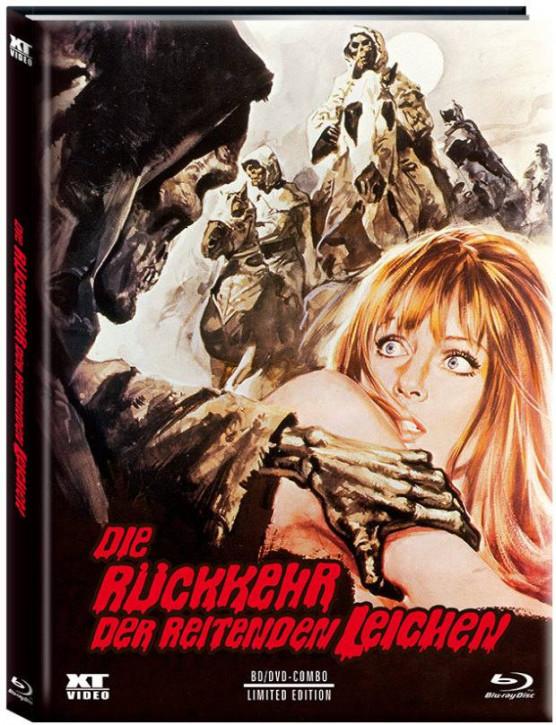 Die Rückkehr der reitenden Leichen - Limited Mediabook - Cover A [Blu-ray+DVD]