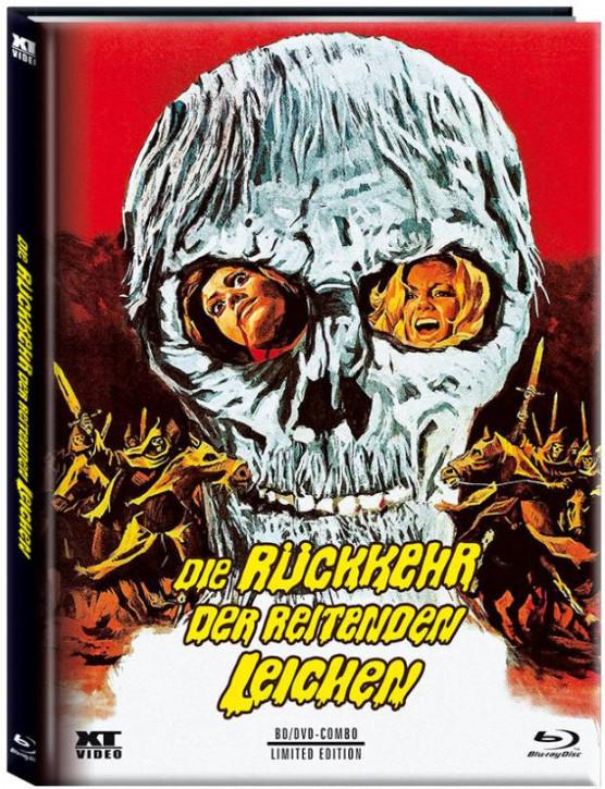 Die Rückkehr der reitenden Leichen - Limited Mediabook - Cover B [Blu-ray+DVD]