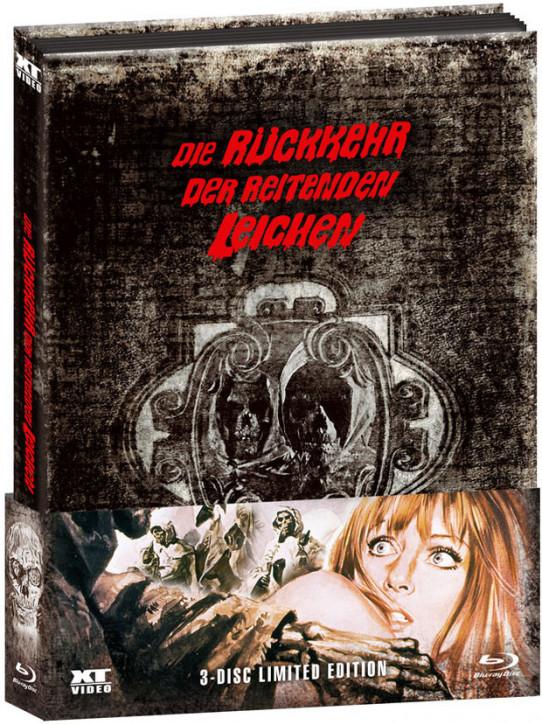 Die Rückkehr der reitenden Leichen - Limited Edition [Blu-ray+DVD]