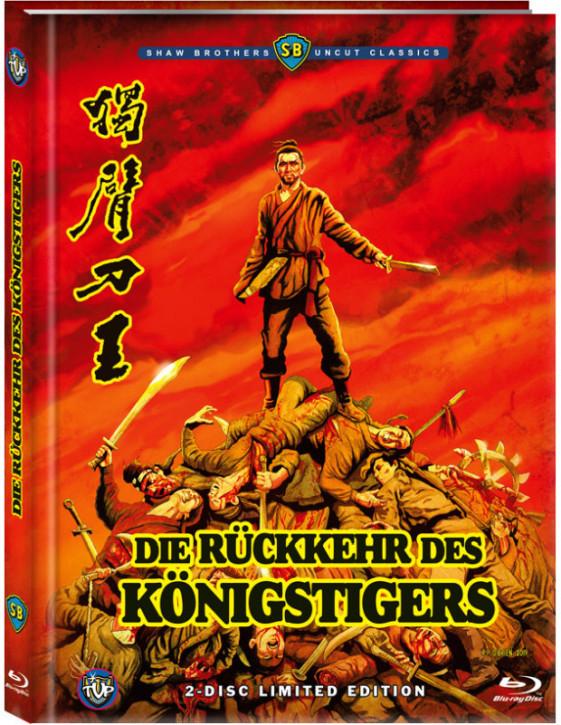 Die Rückkehr des Königstigers - Limited Edition- Cover C [Blu-ray+DVD]