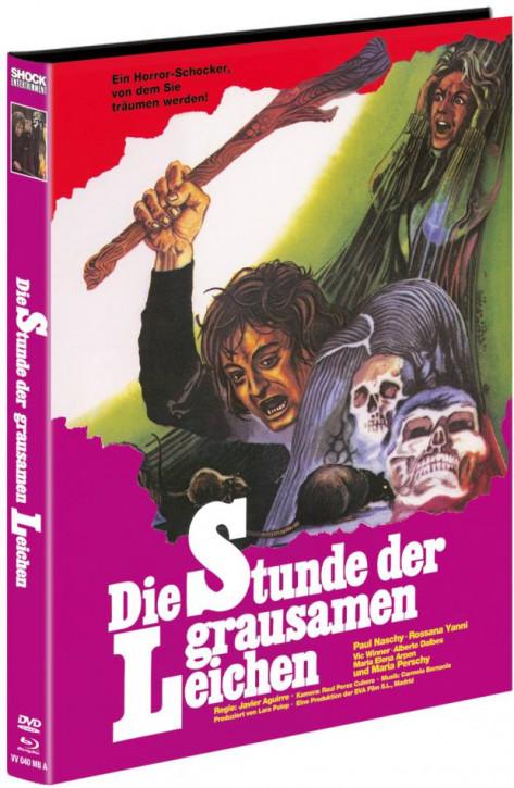 Die Stunde der grausamen Leichen - Mediabook - Cover A [Blu-ray+DVD]