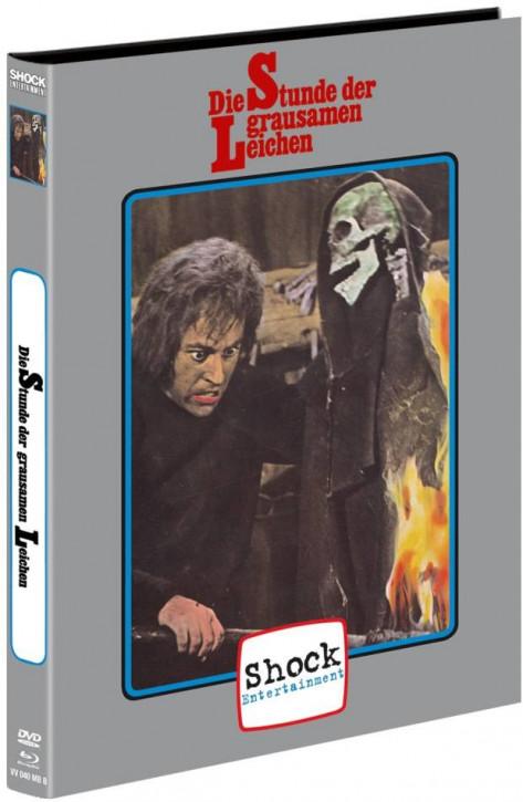 Die Stunde der grausamen Leichen - Mediabook - Cover B [Blu-ray+DVD]