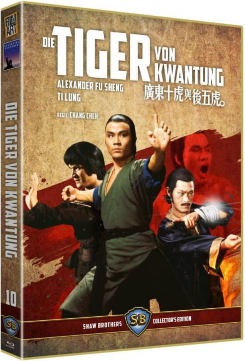 Die Tiger von Kwantung - Shaw Brothers Collection 10 [Blu-ray+DVD]