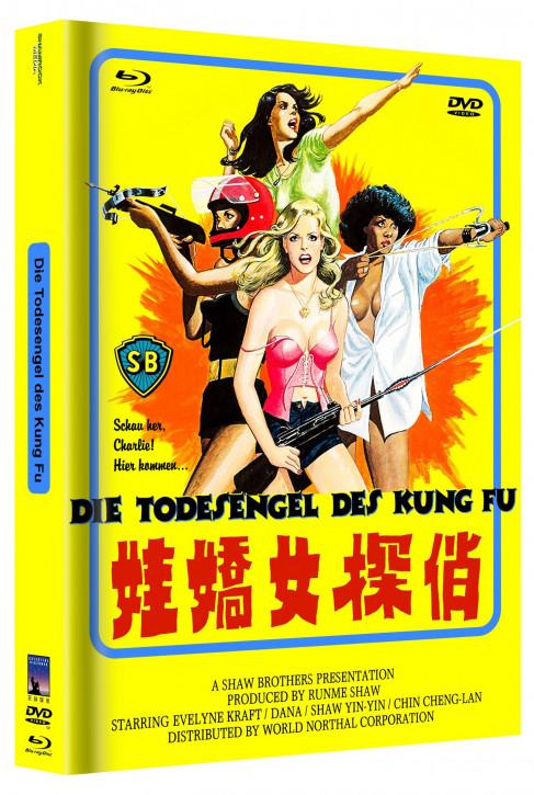 Die Todesengel des Kung Fu - Cover B [Blu-ray+DVD]
