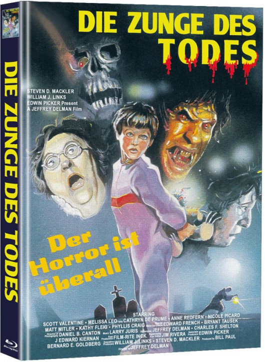 Die Zunge des Todes - Limited Mediabook Edition  (Super Spooky Stories #93) [Blu-ray]