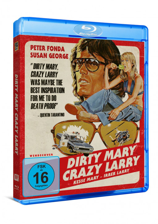 Dirty Mary Crazy Larry [Blu-ray]