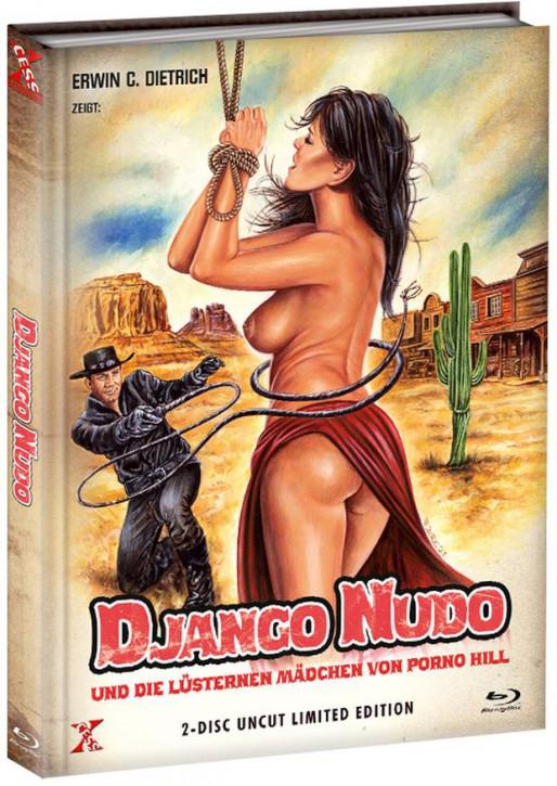 Django Nudo und die lüsternen ... - Mediabook - Cover A [Bluray+DVD]