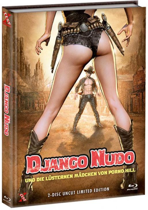 Django Nudo und die lüsternen ... - Mediabook - Cover C [Bluray+DVD]