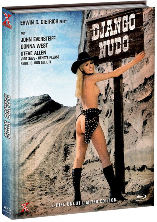 Django Nudo und die lüsternen ... - Mediabook - Cover D [Bluray+DVD]