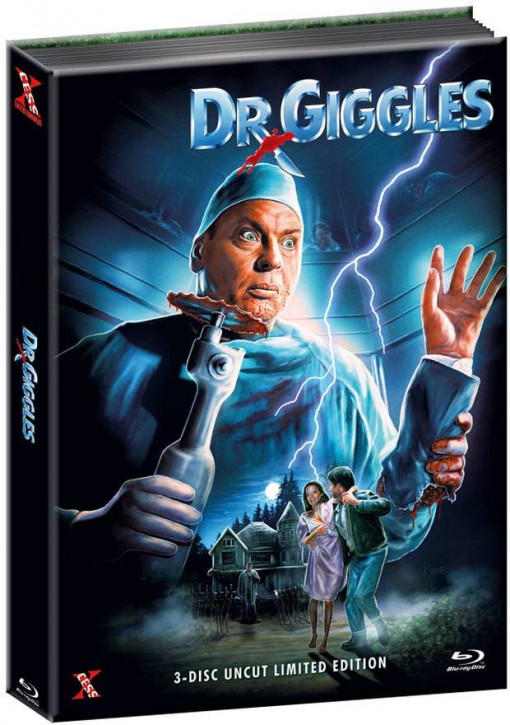 Dr. Giggles - Limited Mediabook Edition - Cover C [Blu-ray+DVD]