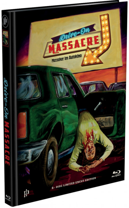 Drive-In Massacre - Mediabook - Cover A [Blu-ray+DVD]