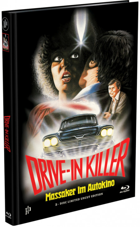 Drive-In Killer - Mediabook - Cover B [Blu-ray+DVD]