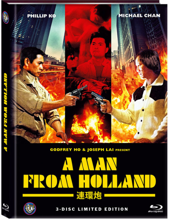 A Man from Holland (Drug Con.) - Limited Edition- Cover B [Blu-ray+DVD]