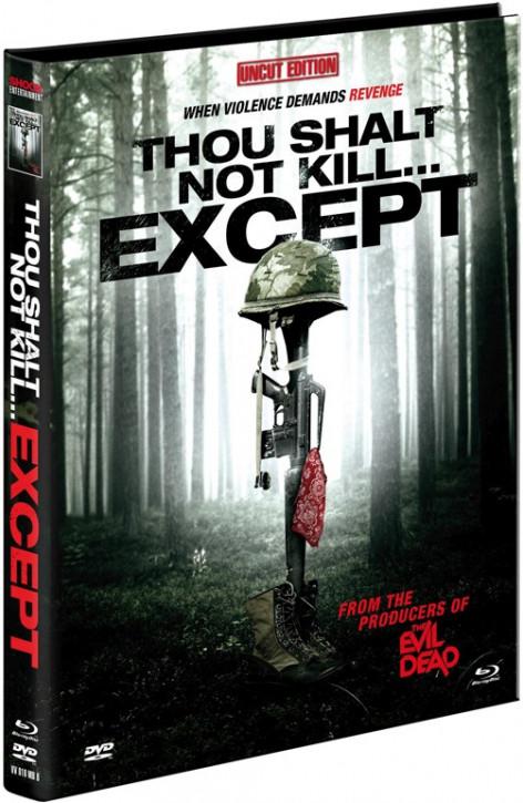 Thou shalt no kill.. exept - Limited Mediabook Edition - Cover B [Blu-ray+DVD]