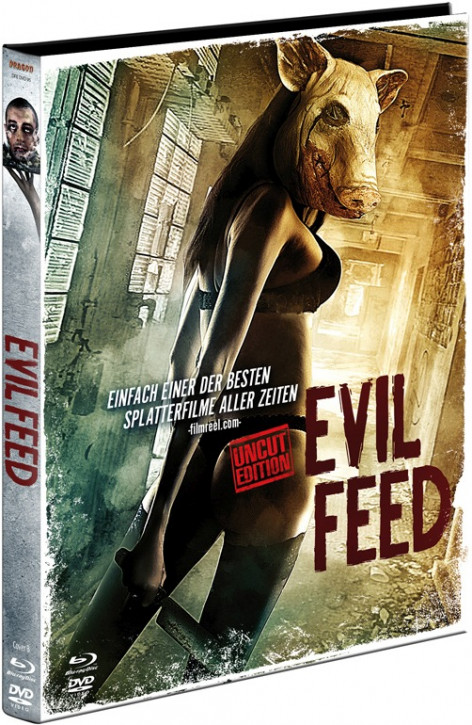 Evil Feed - Limited Mediabook Edition - Cover B [Blu-ray+DVD]