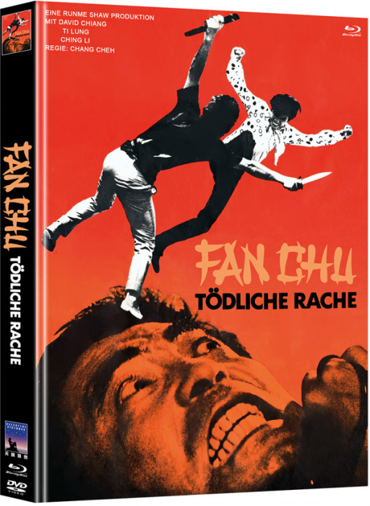 Fan Chu - Tödliche Rache - Limited Mediabook Edition [Blu-ray+DVD]