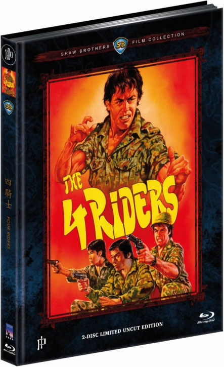 Four Riders - Mediabook - Cover A [Blu-ray+DVD]