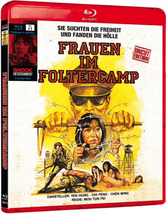 Frauen im Foltercamp - Collectors Edition Nr. 11 (Uncut) [Blu-ray]