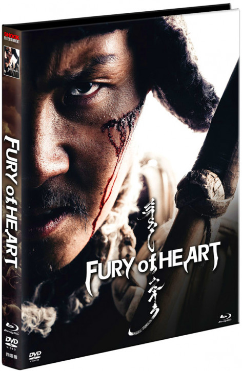 Fury of Heart - Limited Mediabook Edition - Cover B [Blu-ray+DVD]