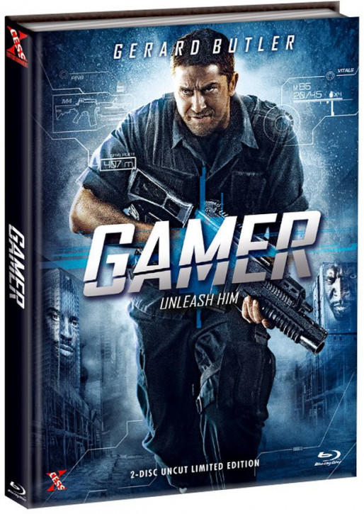 Gamer - Extended Version - Mediabook - Cover A [Bluray+DVD]