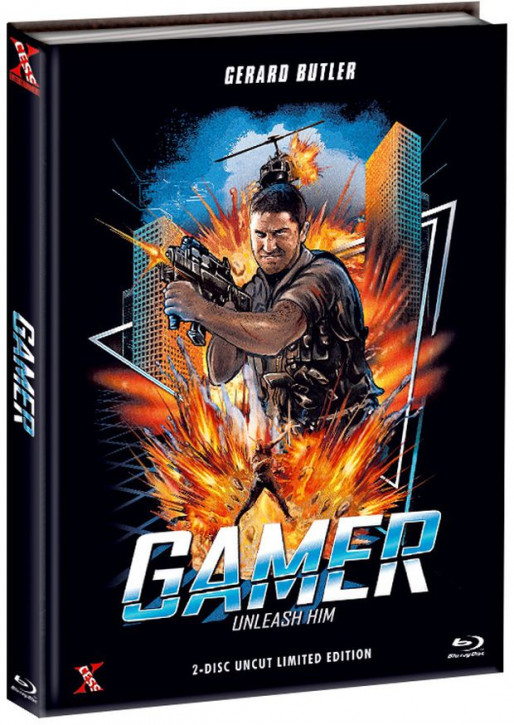 Gamer - Extended Version - Mediabook - Cover B [Bluray+DVD]