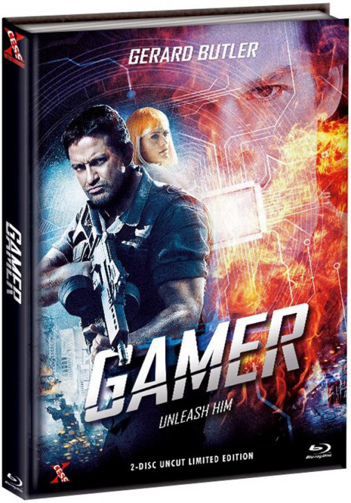 Gamer - Extended Version - Mediabook - Cover C [Bluray+DVD]