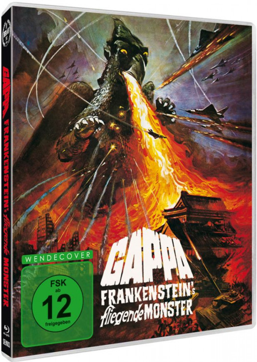Gappa - Frankensteins fliegende Monster [Blu-ray]