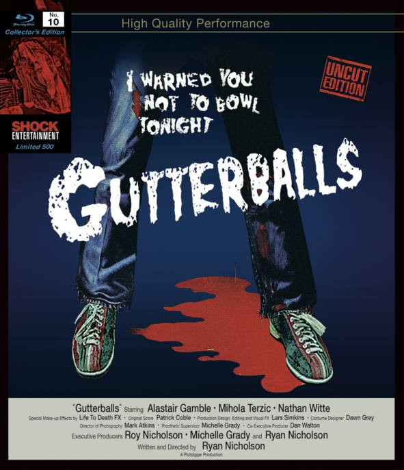 Gutterballs  - Collectors Edition Nr. 10 (Uncut) [Blu-ray]