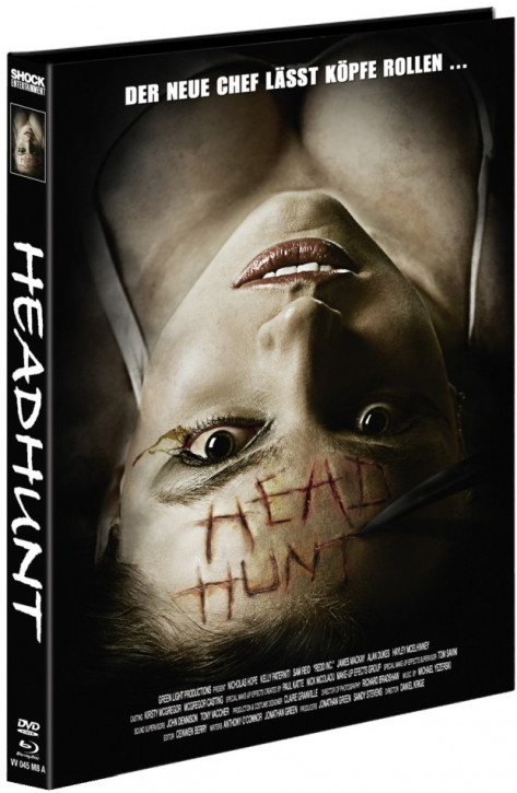 Headhunt - Mediabook - Cover A [Blu-ray+DVD]