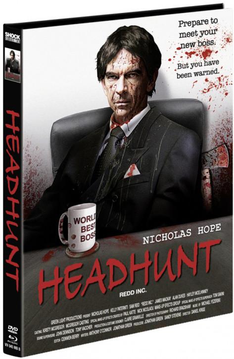 Headhunt - Mediabook - Cover B [Blu-ray+DVD]