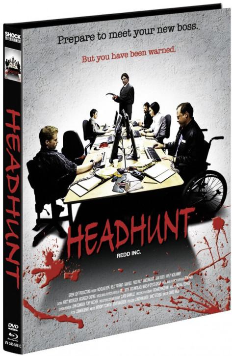 Headhunt - Mediabook - Cover C [Blu-ray+DVD]