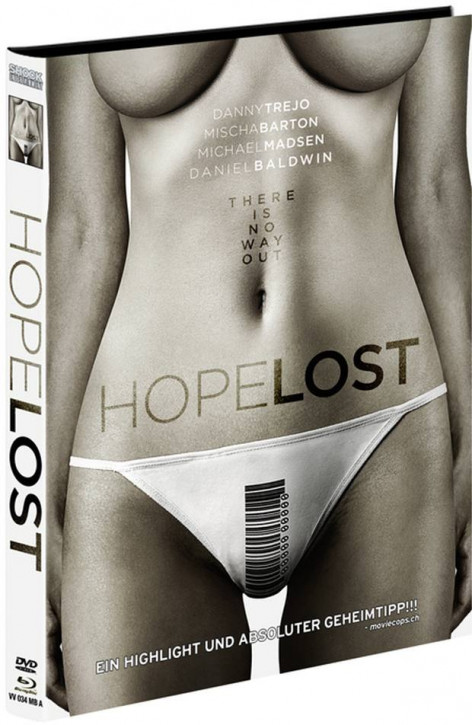 Hope Lost - Limited Mediabook Edition - Cover A [Blu-ray+DVD]