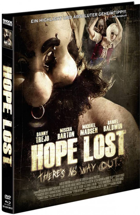 Hope Lost - Limited Mediabook Edition - Cover B [Blu-ray+DVD]