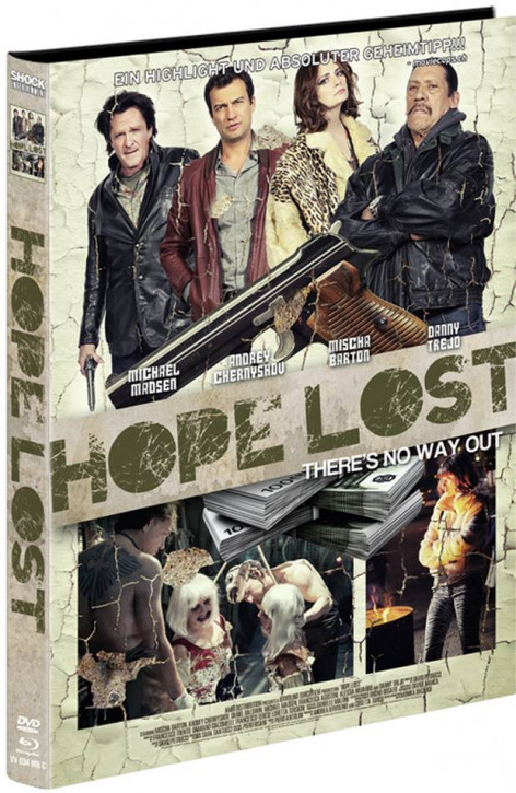 Hope Lost - Limited Mediabook Edition - Cover C [Blu-ray+DVD]
