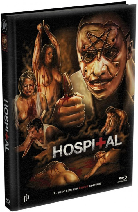 Hospital - Mediabook - Cover A [Blu-ray+DVD]