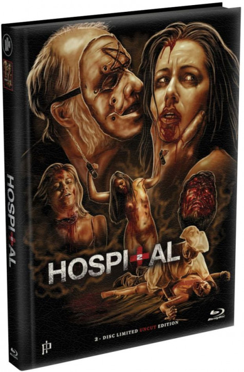 Hospital 2 - Mediabook - Cover A [Blu-ray+DVD]