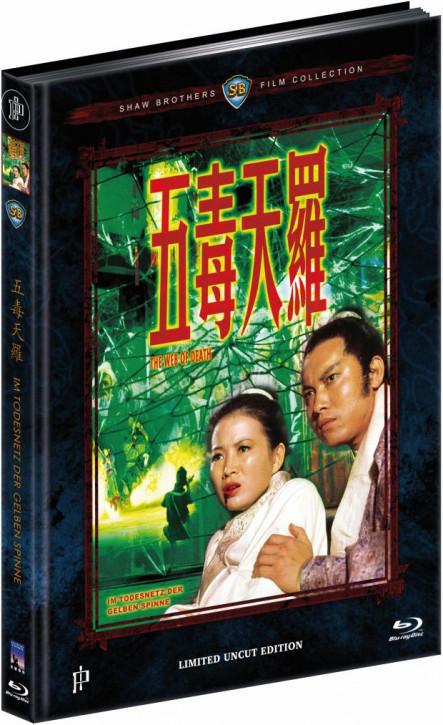 Im Todesnetz der gelben Spinne - Mediabook - Cover B [Blu-ray]